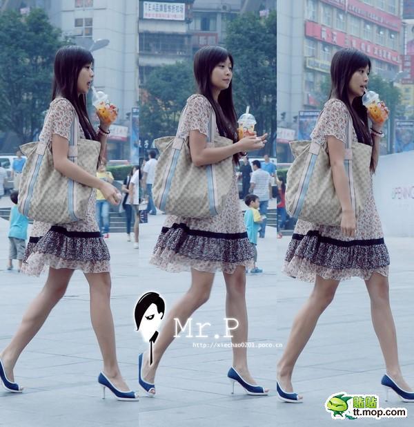 重庆街头美女